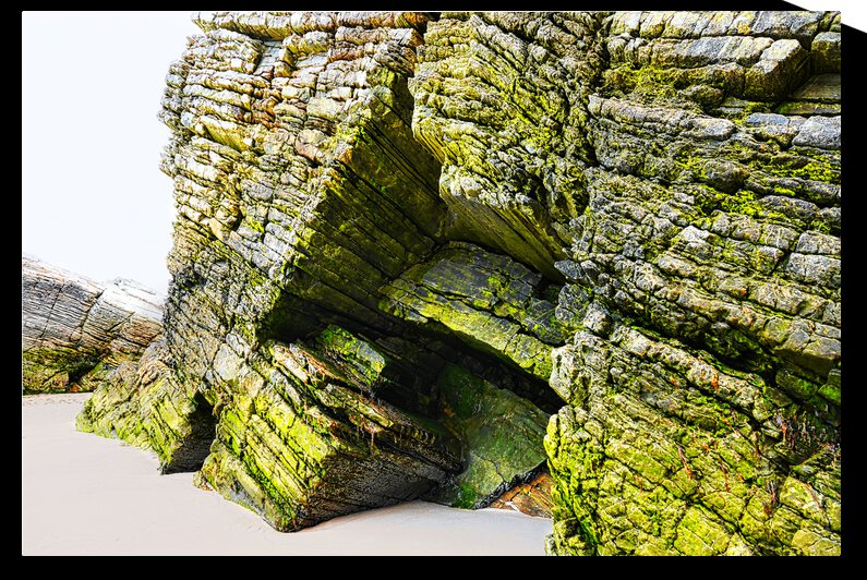 Magera Beach - Rock Formations 2 by Lexa Harpell