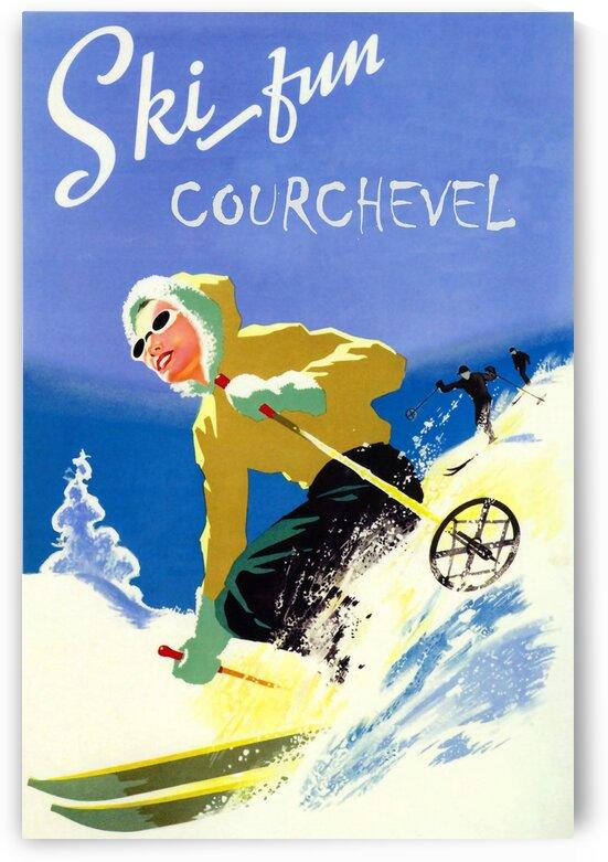 Courchevel Ski Fun by vintagesupreme