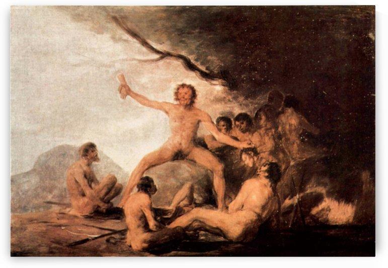 The cadaver of the Brebeuf Jesuit by Goya by Goya