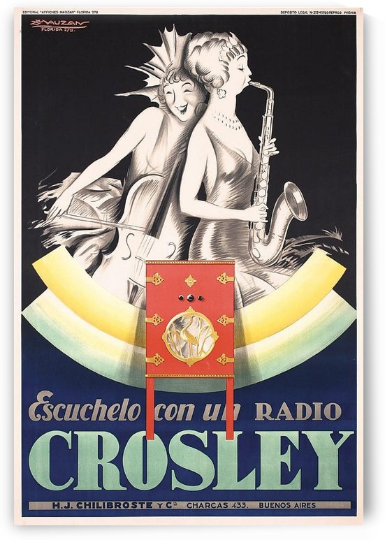 Crosley by VINTAGE POSTER