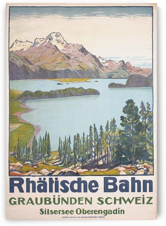 Rhatisdhe Bahn by VINTAGE POSTER