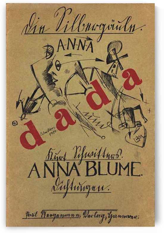 Anna Blume by VINTAGE POSTER