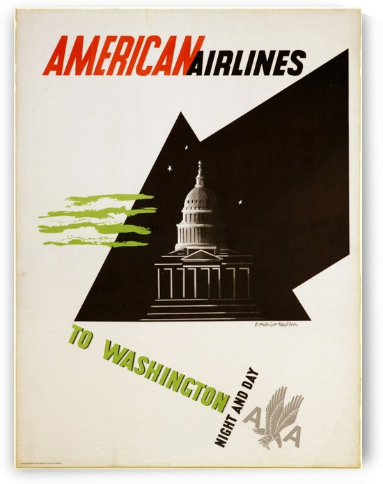 To Washington by VINTAGE POSTER