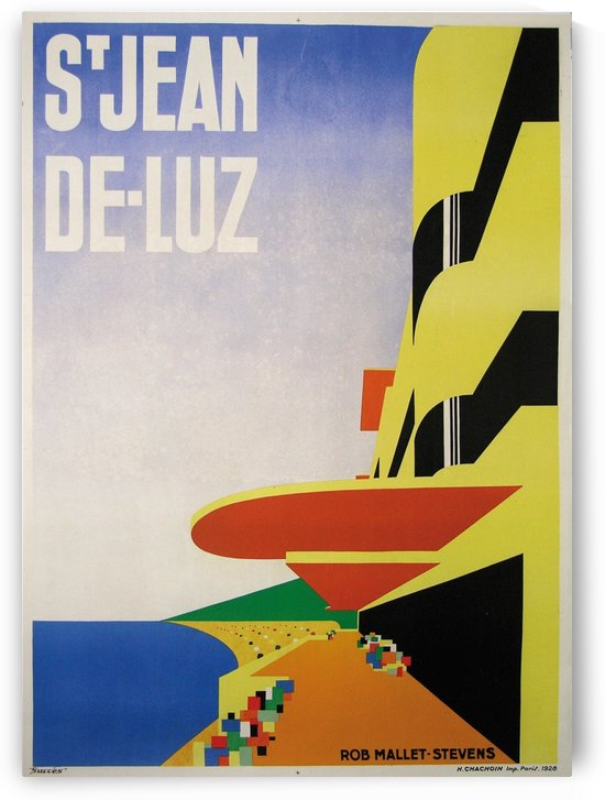 S'Jean de - Luz by VINTAGE POSTER