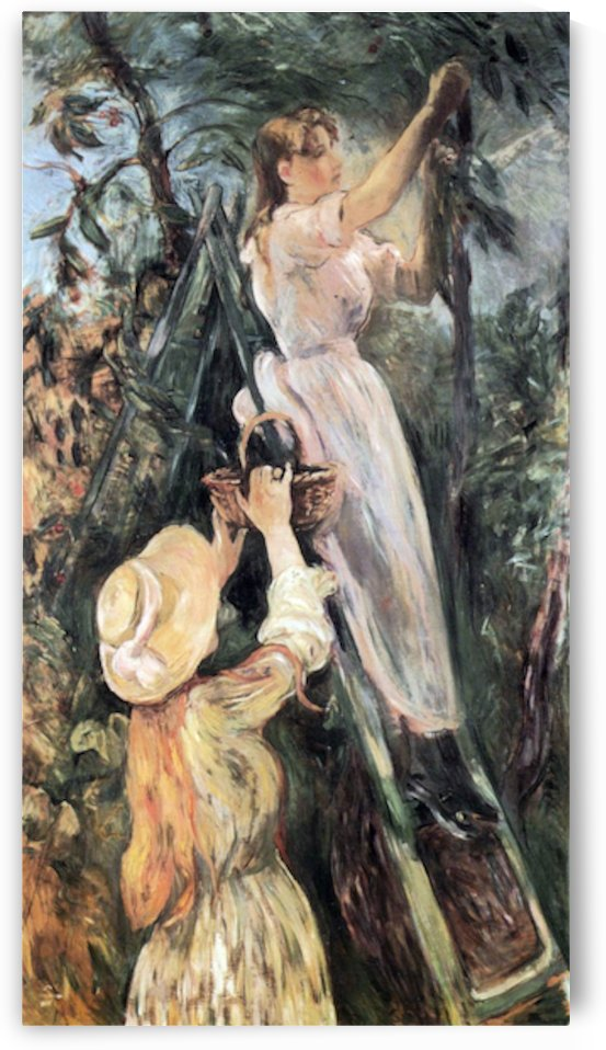 The Cherry Tree by Morisot by Morisot