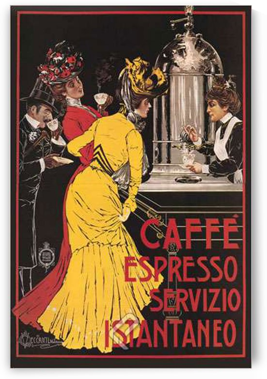 Caffe Espresso by VINTAGE POSTER