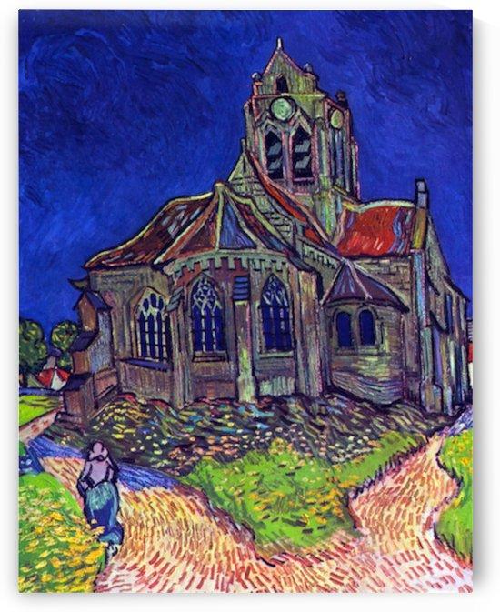 The Church of Auvers by Van Gogh by Van Gogh