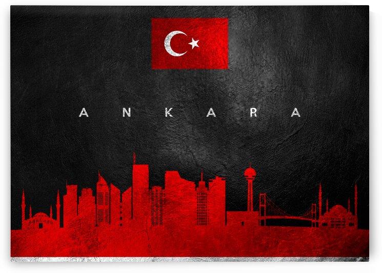 Ankara Turkey Skyline 2 Wall Art by ABConcepts