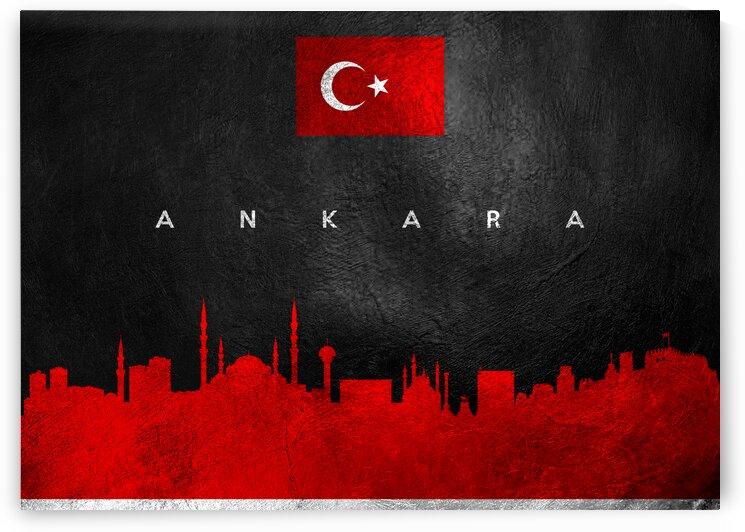 Ankara Turkey Skyline Wall Art by ABConcepts