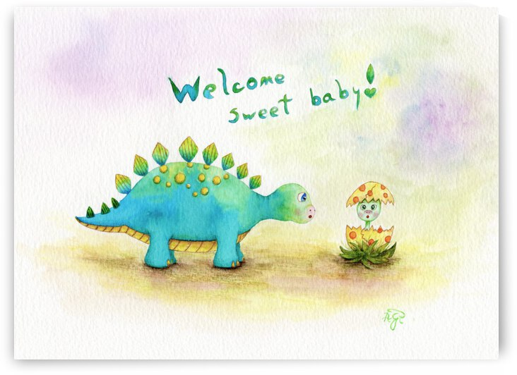 Welcome Sweet Baby  by Feerie