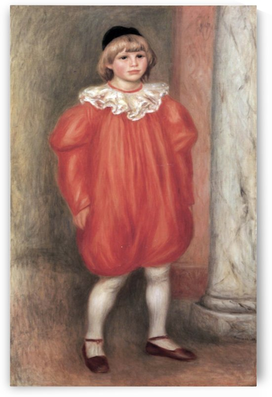 The clown by Renoir by Renoir
