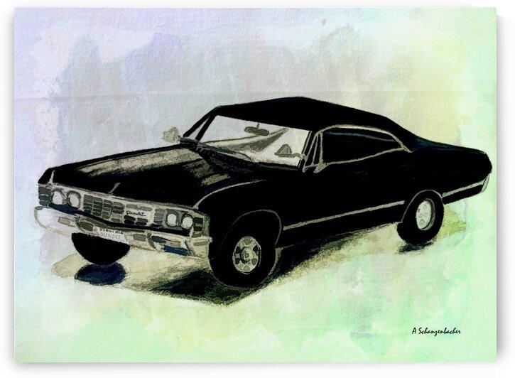 1969 Chevy Impala by Aurelia Schanzenbacher Sisters Fine Arts