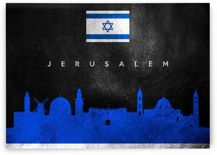 Jerusalem Israel Skyline Wall Art by ABConcepts
