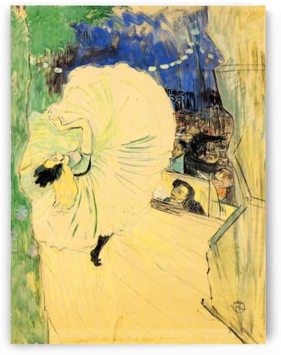 The coil by Toulouse-Lautrec by Toulouse-Lautrec