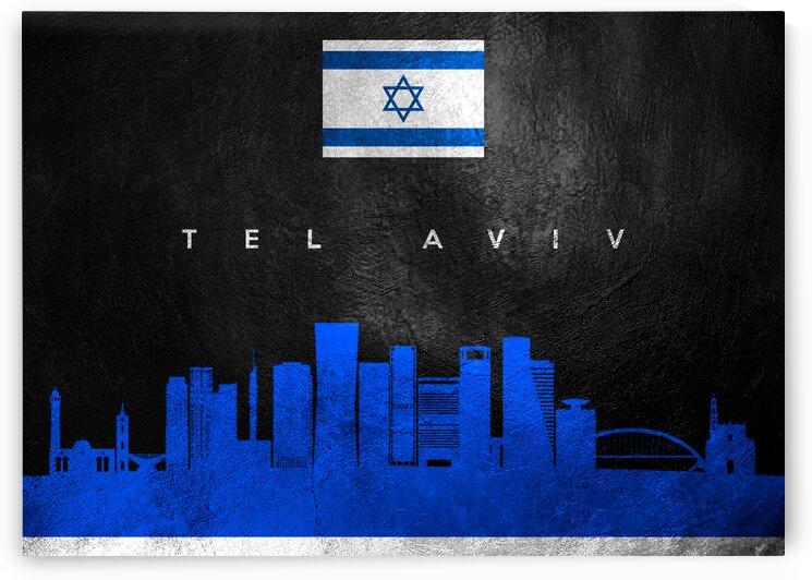 Tel Aviv Israel Skyline Wall Art by ABConcepts