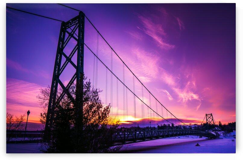 Le pont de Grand-Mere by Jean-Francois Turcotte