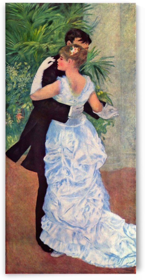 The dance in the city by Renoir by Renoir