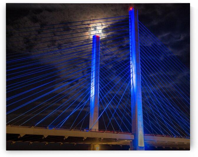 bridge moon 10x8 closeup 9270042 by Bill Swartwout Photography