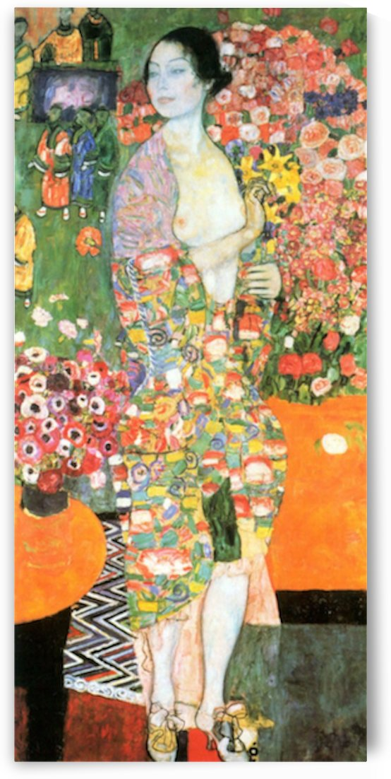 The dancer by Klimt by Klimt