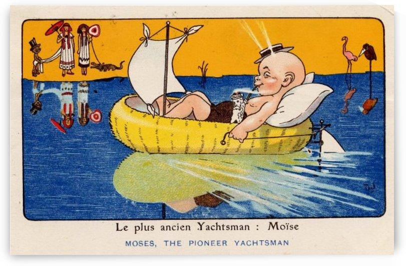 Le plus ancien yachtsman by VINTAGE POSTER