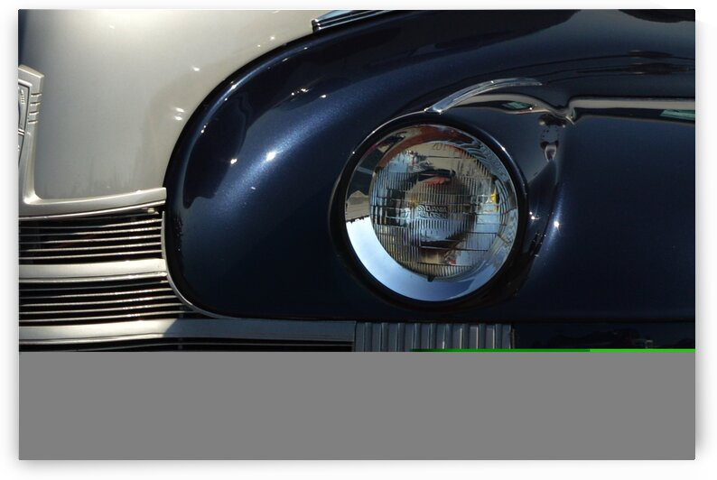 oldsmobile 1940 headlight grill 4735 by Bill Swartwout Photography