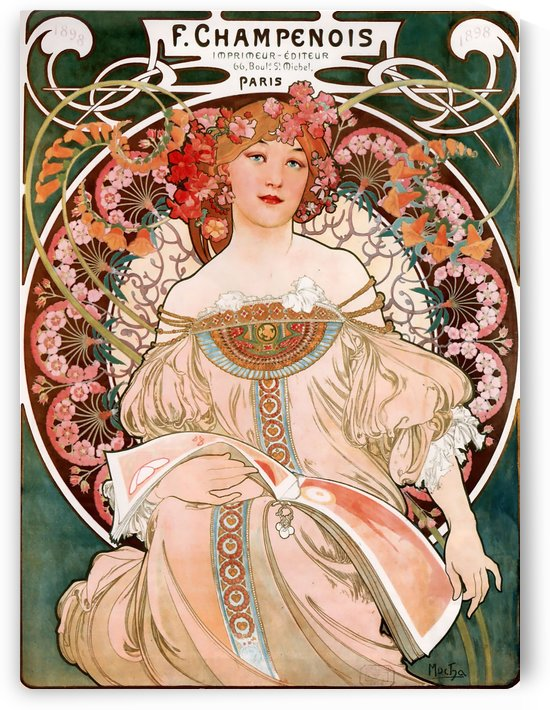 F. Champenois by VINTAGE POSTER