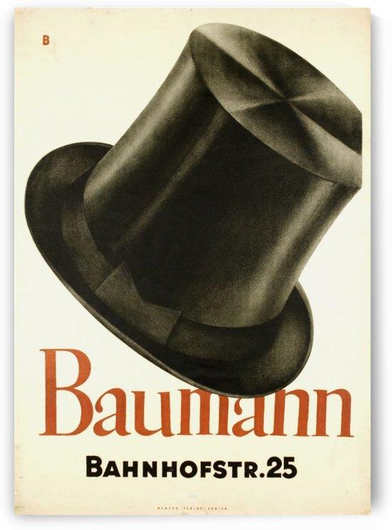 Bauman Hat by VINTAGE POSTER