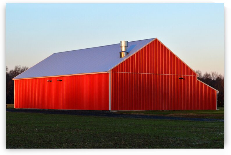red barn plain jane by Bill Swartwout Photography