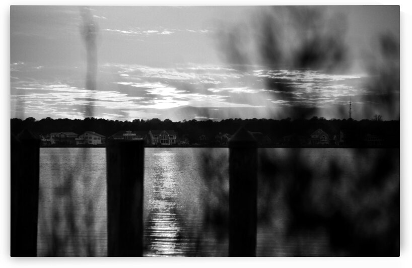 sunset st martens h01 black white by Bill Swartwout Photography