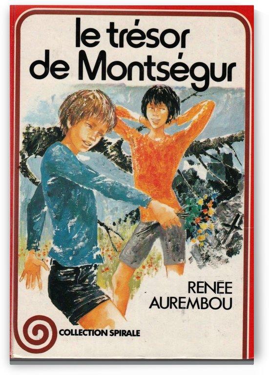Le tresor de Montsegur by VINTAGE POSTER