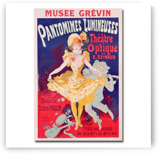 Musee Grevin by VINTAGE POSTER
