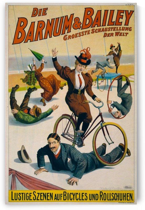 Die Barnum&Bailey by VINTAGE POSTER