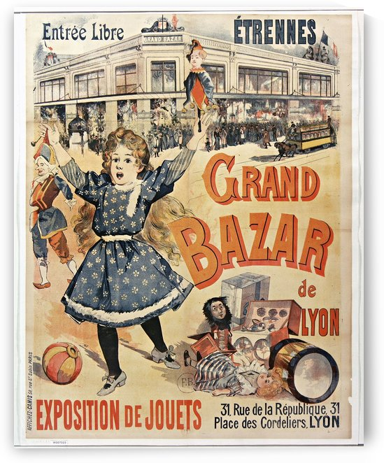 Grand Bazar by VINTAGE POSTER
