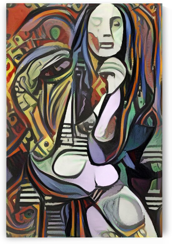 Thought Provoking Picasso Style by Million Dollar Art