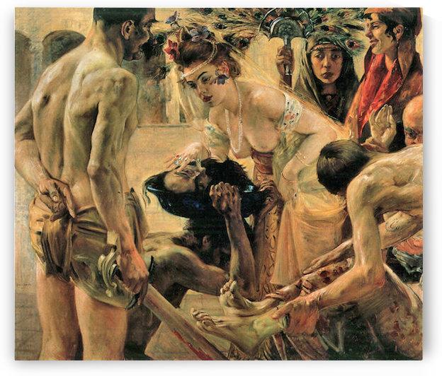 Salome by Lovis Corinth by Lovis Corinth