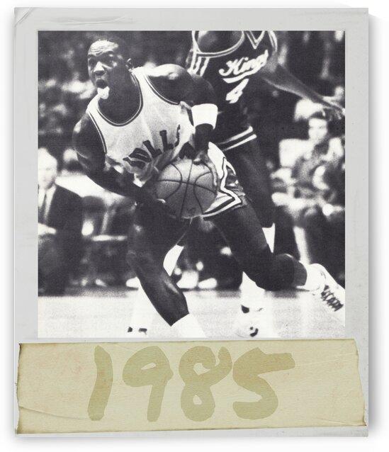 1985 Jordan Photo Art by Row One Brand