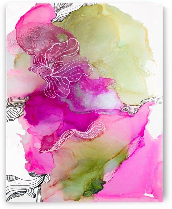 Pink glow  by Ana Jones Studio