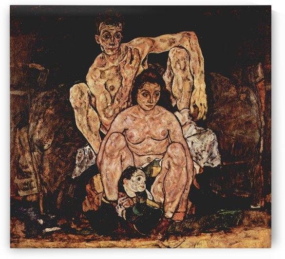 The Family by Egon Schiele by Egon Schiele