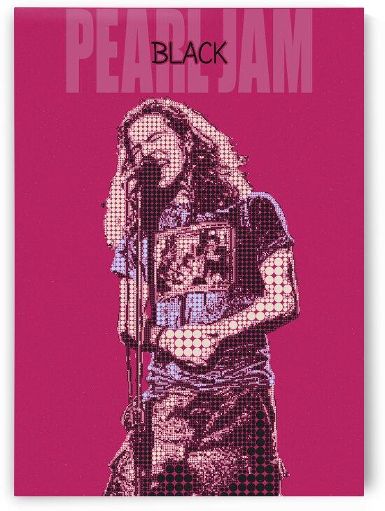 Black   Pearl Jam   Eddie Vedder by Gunawan Rb