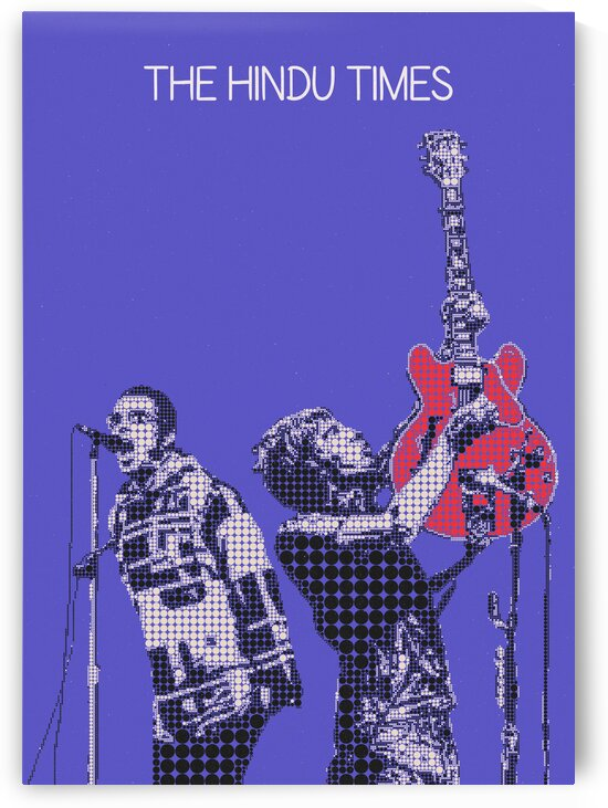 The Hindu Times   Oasis   Noel Gallagher   Liam Gallagher by Gunawan Rb