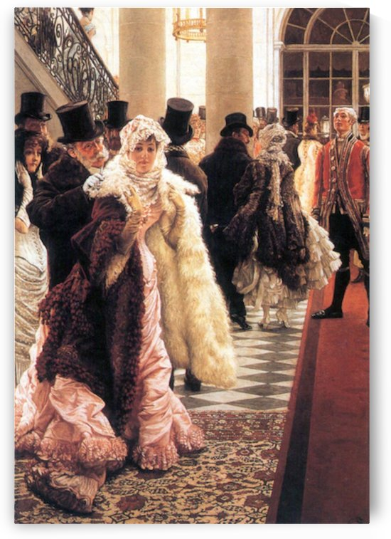 The fashionable woman by Tissot by Tissot