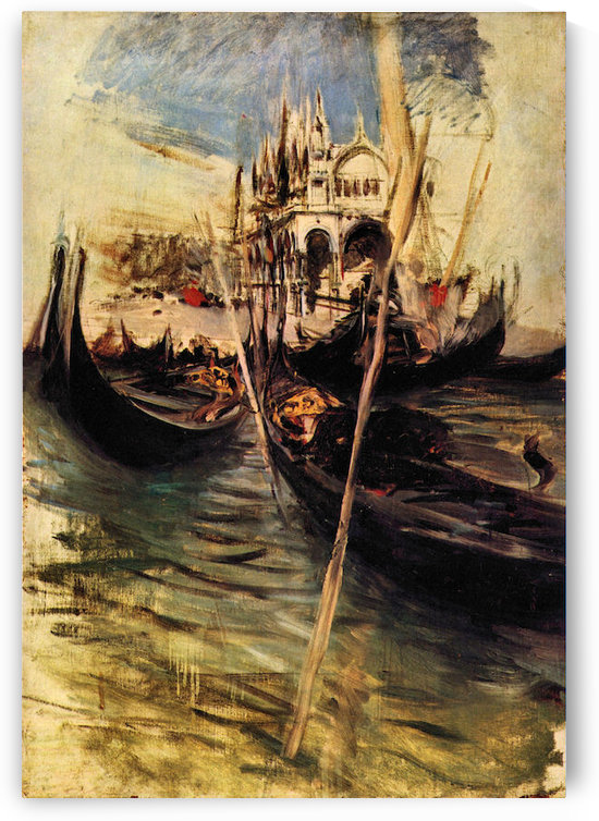 San Marco in Venice by Giovanni Boldini by Giovanni Boldini
