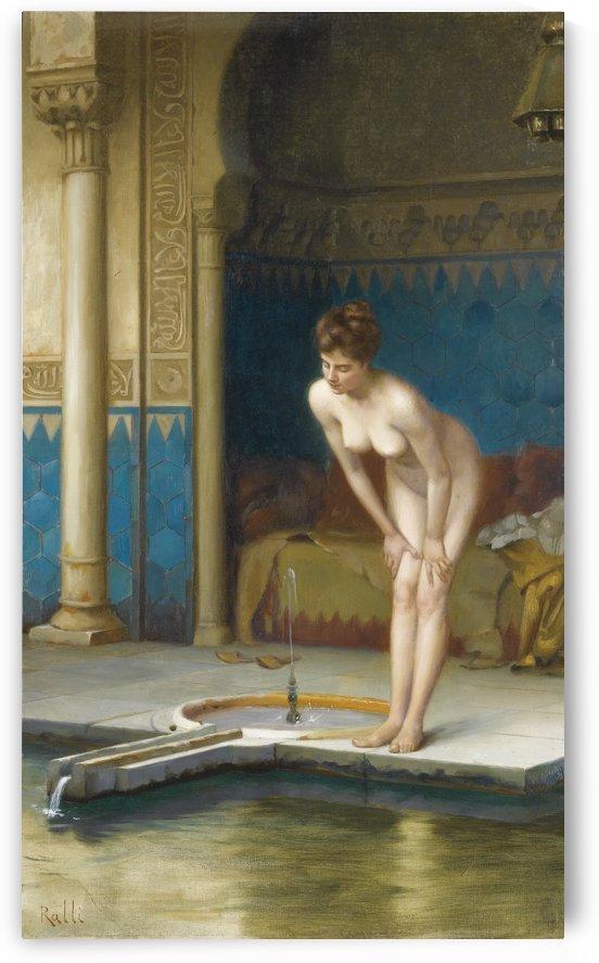 Women bathing by Theodore Ralli
