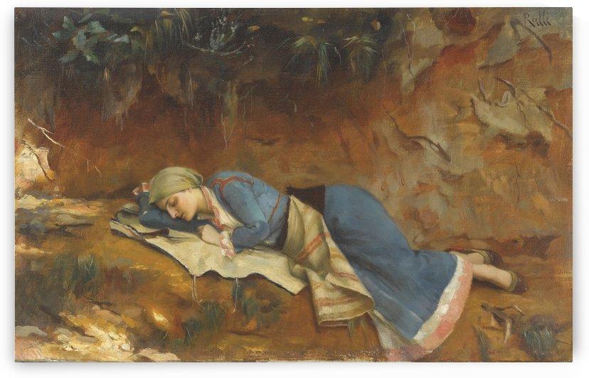Women sleeping by Theodore Ralli