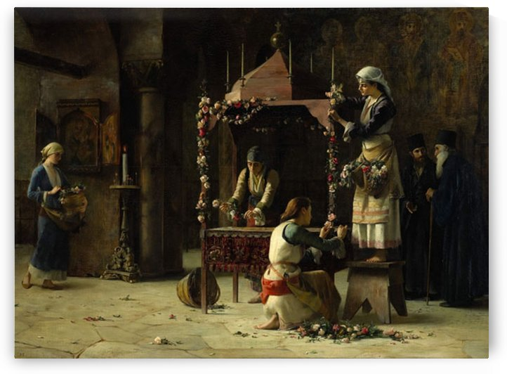 Bearers Bedewed the Tomb with Myrrh by Theodore Ralli