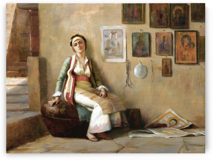 Greek woman by Theodore Ralli