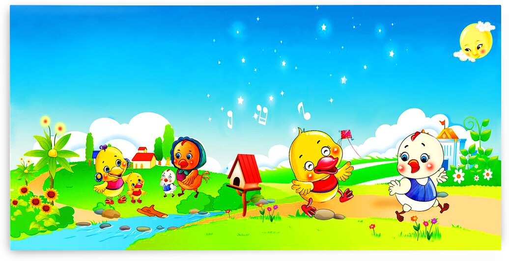 Chicks At The Farm_OSG by One Simple Gallery