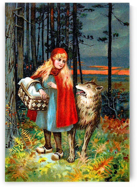 Little Red Riding Hood 2A_OSG by One Simple Gallery