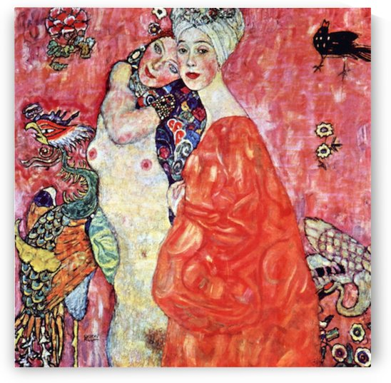 The girlfriends by Klimt by Klimt