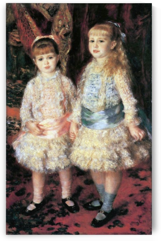 The girls Cahen d Anvers by Renoir by Renoir